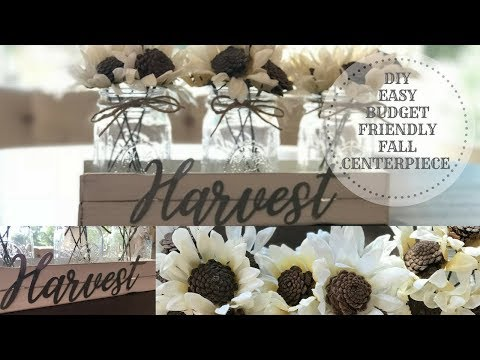 DIY FALL DECOR 2018|EASY|BUDGET FRIENDLY