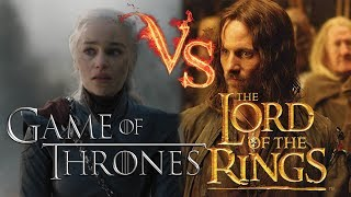 Game Of Thrones VS. Lord Of The Rings