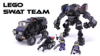 Gambar cover LEGO - SWAT TEAM (Mech,Van,RC Robot) - Stop Motion Build