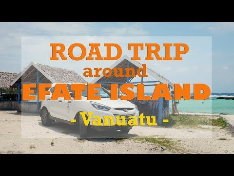 An Awesome Road Trip around Efate Island, Vanuatu!