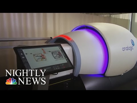 New 3D Scanning Technology Will Improve Speed And Security At Airports | NBC Nightly News