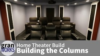 Building Home Theater Columns