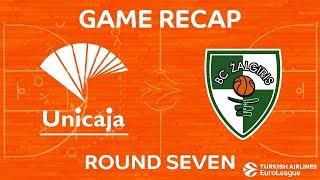Highlights: Unicaja Malaga - Zalgiris Kaunas
