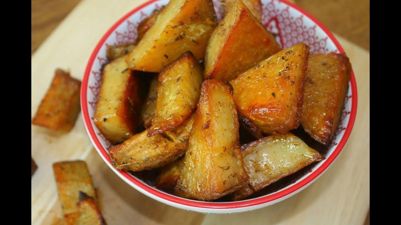 Como fazer batata doce assada