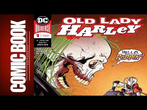 Old Lady Harley #1 | COMIC BOOK UNIVERSITY