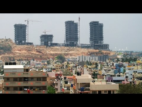 Skyline of Banashankari Life in Bangalore