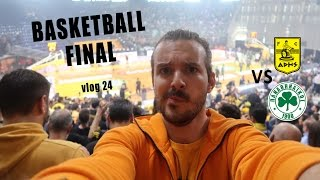 I found a ticket, Aris Panathinaikos greek basketball cup final