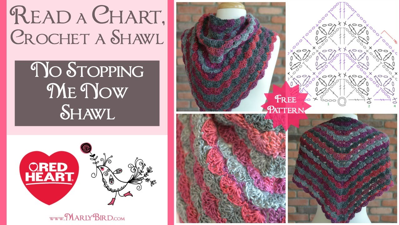 Learn to read a crochet chart and crochet a shawl with marly bird learn to read a crochet chart and crochet a shawl with marly bird pooptronica