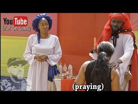 Chief Imo Comedy ||  Imo and Maggi during one of their spiritual work (okwu na uka episode 7)