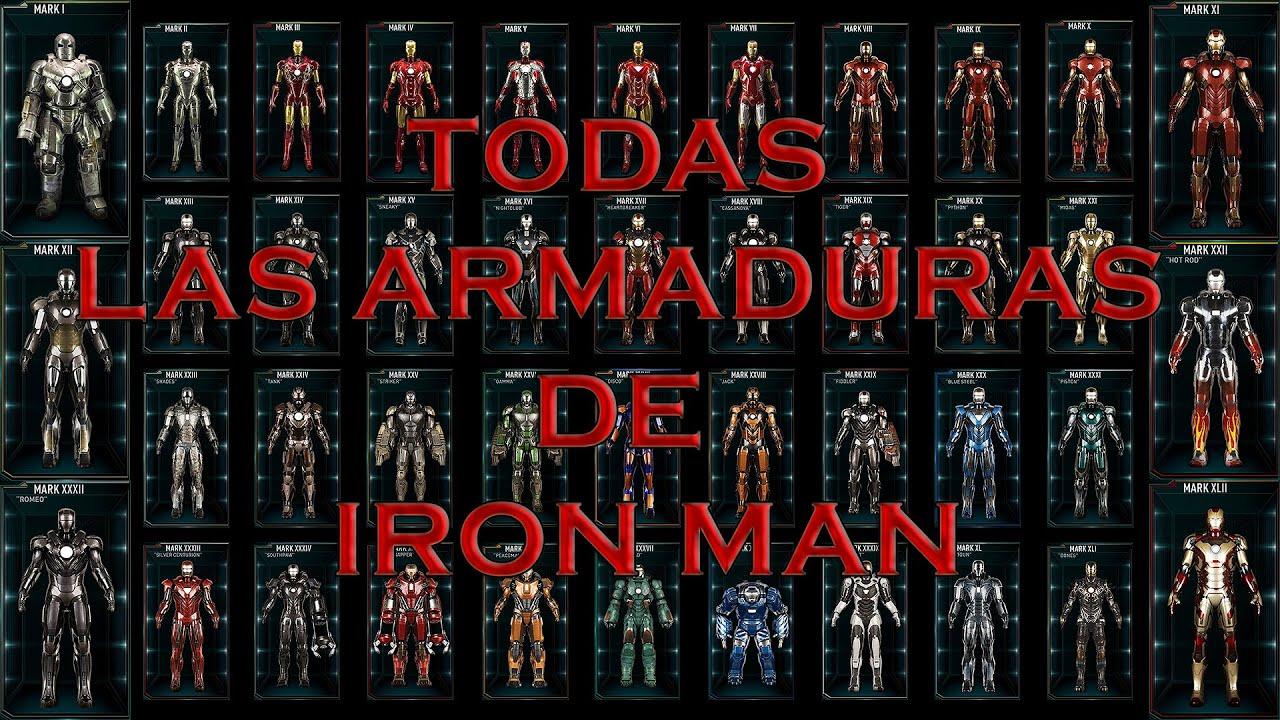 Pacific Rim Jaeger Girl Wallpaper Iron Man Todas Las Armaduras O Mark Del 1 Al 46 2018