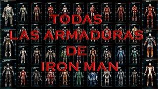 iron man armaduras increibles