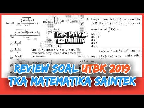 #UTBK2019                                               Review Soal UTBK 2019 TKA Matematika Saintek