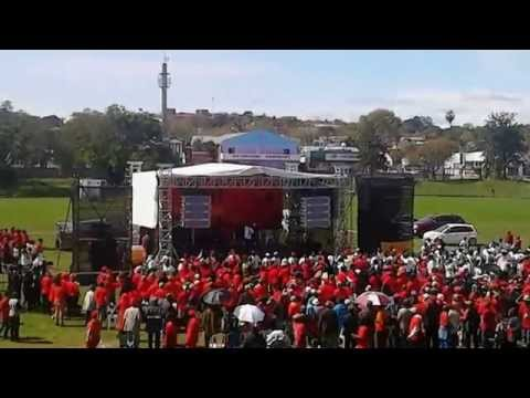 EFF leader arrives at King William's Town