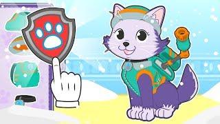 BABY PETS Kira se disfraza de perrita husky 💥 Dibujos animados educativos