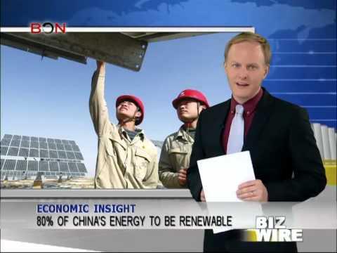 80% of China's energy to be renewable - Biz Wire - February 21,2014 - BONTV China