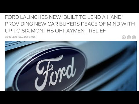 Ford 6 Month Payment Deferral Program, Remote Sales, Resipirators And More