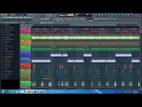 Tu Desprecio - Los Genios / Pista Karaoke Fl Studio 10 - Kontakt