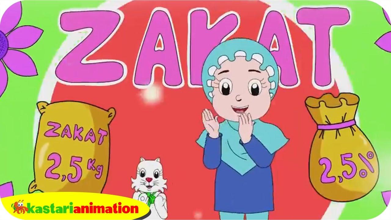 MEMBAYAR ZAKAT bersama Diva dan Lagu Anak Islami  | Kastari Animation Official