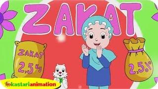 MEMBAYAR ZAKAT bersama Diva dan Lagu Anak Islami  | Kastari Animation Official - Stafaband