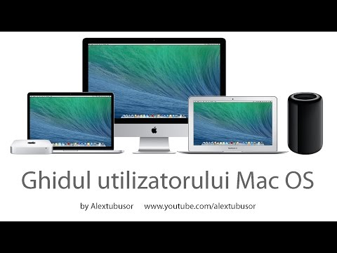 Ghid Utilizator Apple Macintosh Mac OS X (imac, macbook, mac pro, mac mini)