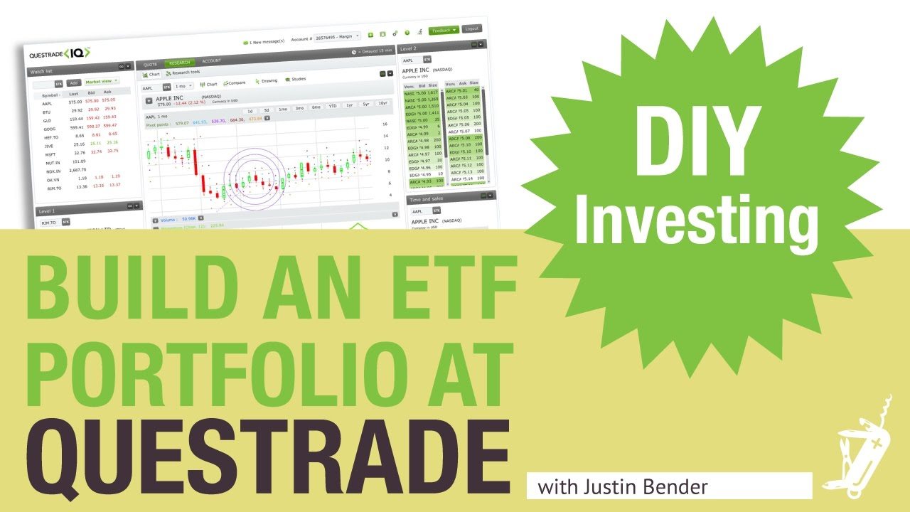 How To Build An ETF Portfolio At Questrade DIY Investing With