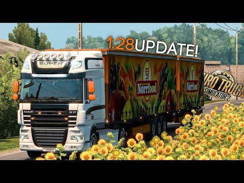 Euro Truck Simulator 2 - 1.28 UPDATE! (Open Beta)