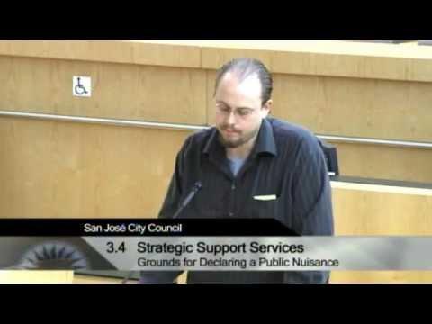 San Jose City Council Meeting 06/04/13 Items 3.4 & 3.5 - Marijuana Tax
