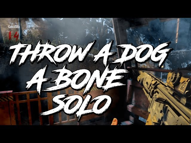 SOLO THROW A DOG A BONE TROPHY   ACHIEVEMENT   BLOOD OF THE DEAD   COD BLACK OPS 4 ZOMBIES
