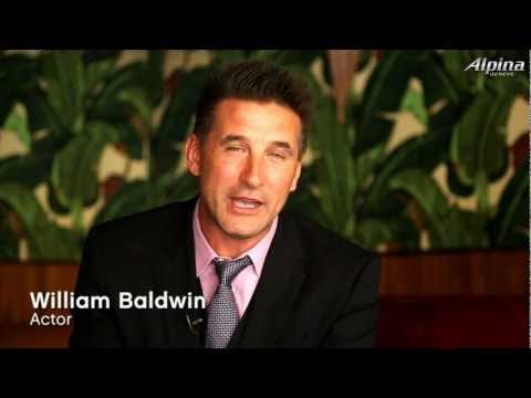 ALPINA PRESS EVENT IN NEW YORK CITY WITH WILLIAM BALDWIN