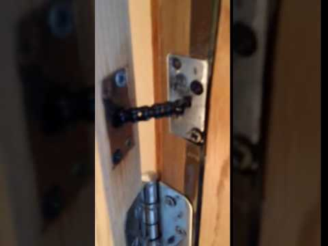 Built In Auto Door Closer With Chain Youtube