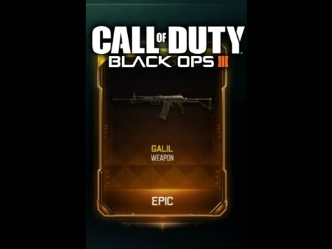 galil gameplay black ops 3 new dlc weapon for black ops