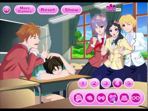School Buddies - Anime Dress Up Game