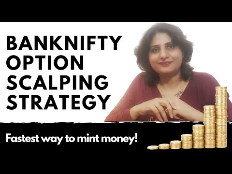 BANKNIFTY OPTION SCALPING STRATEGY. Fastest way to Mint money!
