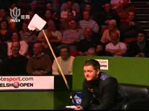 Ronnie O'Sullivan (Funny concession by Mark Allen)