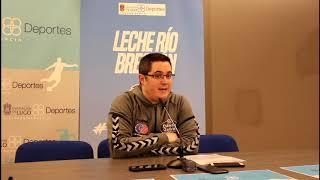 Video Diego Epifanio RP previa Leche Río Breogán - Carramimbre Valladolid