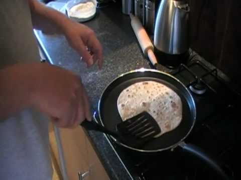 how to make chapati at home