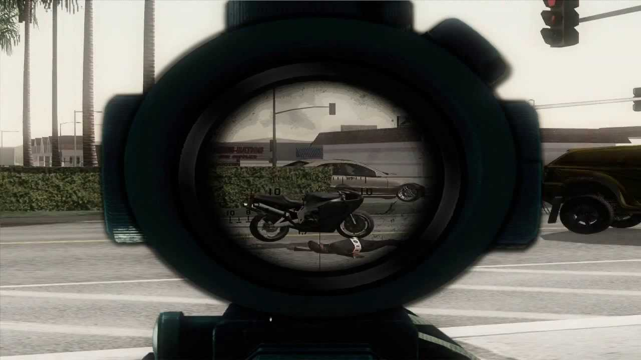 Gta San Andreas Wallpaper Hd Gta Sa Sniper Scope Youtube