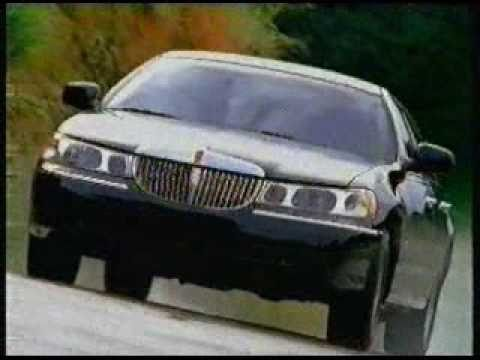 Lincoln Continental And Lincoln Town Car Commercial From 1999 Youtube
