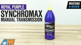 1979-2018 Mustang Royal Purple Synchromax Manual Transmission Fluid Review