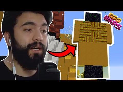 EGG ÜSTÜNE TİPSİZ HEYKEL YAPMAK | Minecraft: EGG WARS