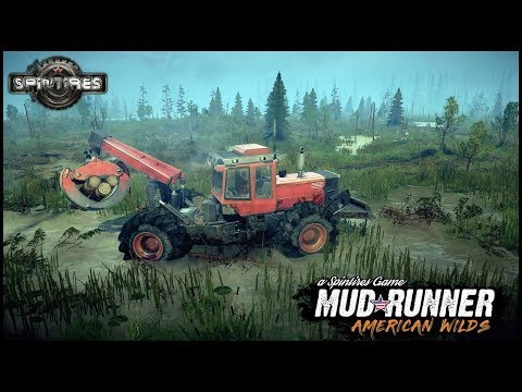 LOGGING IN DEEP MUDDY SWAMP - Spintires: MudRunner