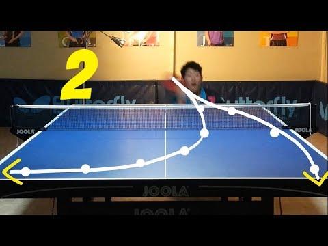Best Table Tennis Serves Tutorial. (Pt 2: reverse pendulum, tomahawk) --- TOMORROW TABLE TENNIS