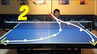 Best Table Tennis Serves Tutorial. (Pt 2: reverse pendulum, tomahawk) --- TOMORROW TABLE TENNIS