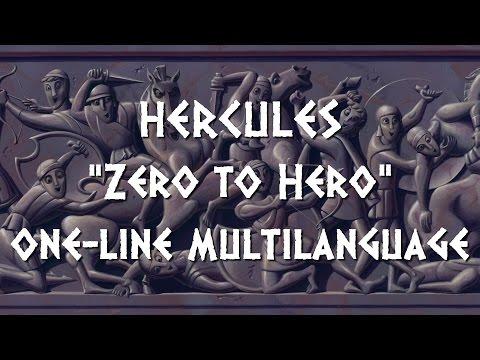 Hercules - Zero to Hero One Line Multilanguage With S&T
