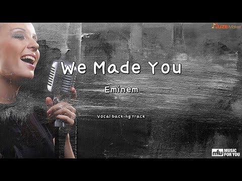 We Made You - Eminem (Instrumental & Lyrics)