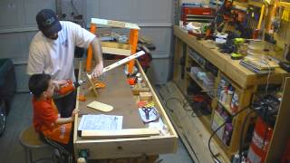Time Lapse - Assembling The Home Depot Kids Workbench