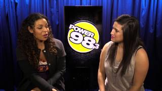 Jordin Sparks talks about Jason Derulo & sings with Dee