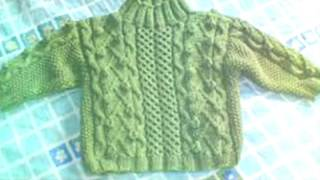 New sweater design for kids or baby or children in hindi || knitted design pattern