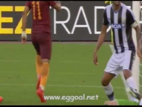 اهداف مباراة روما و أودينيزي4-0 | الدورى الايطالى 20-8-2016 roma vs udinese