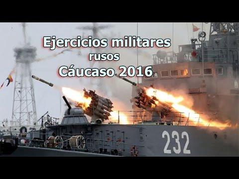 La etapa final de los mayores ejercicios militares rusos Cáucaso. Fuerzas Armadas de Rusia